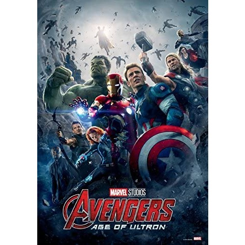 1000Piece Jigsaw Puzzle Marvel Avengers Age Of Ultron 10Th Edition