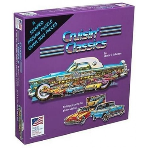 Great American Puzzle Factory Cruisin Classics 500 Piece