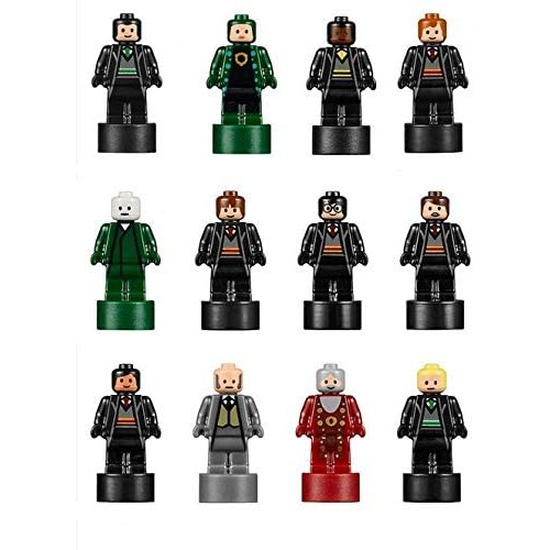 Lego Harry Potter Set Of 12 Microfigs From Hogwarts Castle Very
