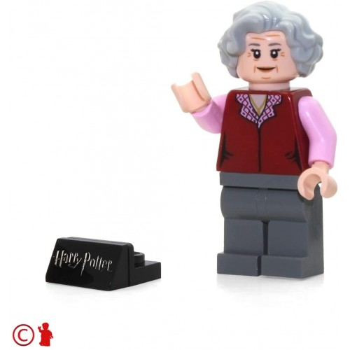 Lego 2018 Harry Potter Minifigure The Trolley Witch With Display Stand