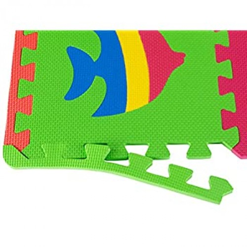Foam Floor Mats Baby Play Mat Animal Puzzle With Animals Soft Reusable Easy To