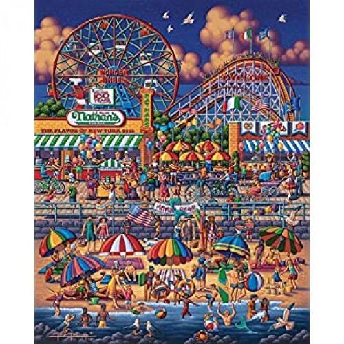 Dowdle Jigsaw Puzzle Coney Island 500