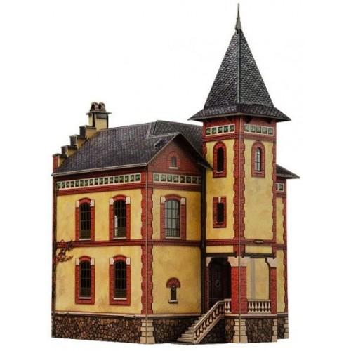 Clever Paper Railway Collection Buildings Villa In Villemomble 3D Puzzle 14 x 22