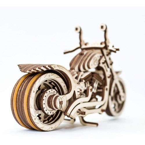 Mechanical Cruiser Model Wooden 3D Puzzle For Adults And Teens