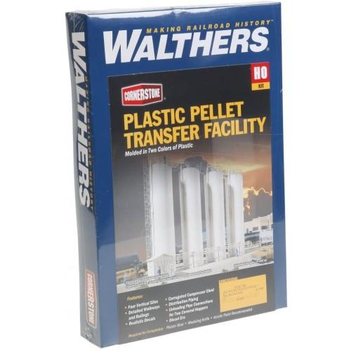 Walthers Cornerstone Plastic Pellet Transfer