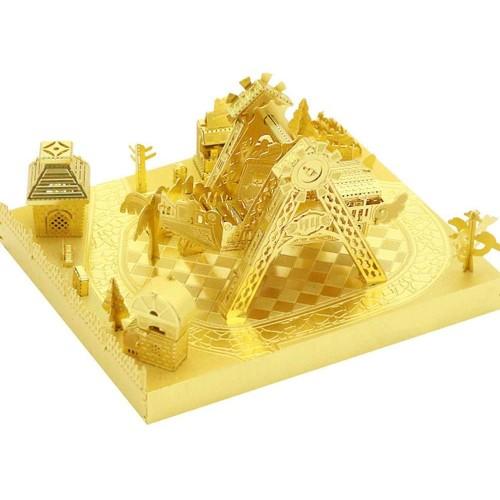 Mu Amusement Park Corsair 3D Metal Puzzle Assemble Model Kits Diy Laser Cut Jigsaw Toy