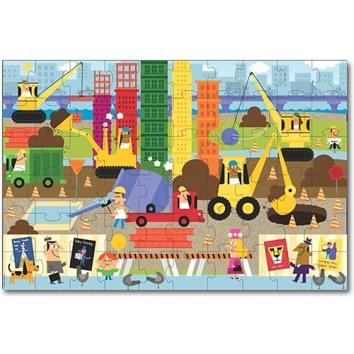 Innovative Kids Green Start Giant Floor Big Builder Puzzles 60