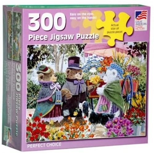 Great American Puzzle Factory Perfect Choice 300 Piece