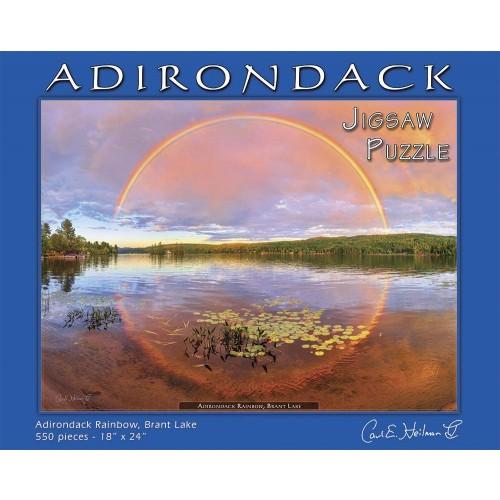 Carl E Heilman Ii Adirondack Jigsaw Puzzle Rainbow Brant Lake