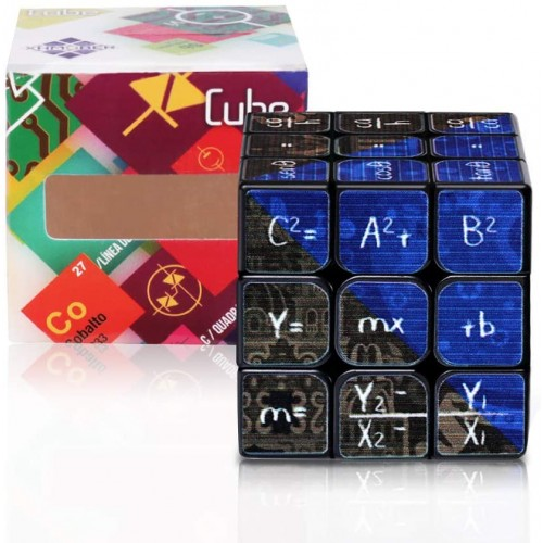 Rubiks 3×3 Cube 3D Puzzle GameBrain Teasers Puzzles Magic Math Gift