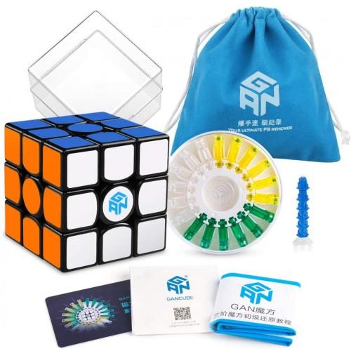 Coogam Gan 356 x Speed Cube 3×3 Stickerless Gans 356x Magnetic Puzzle Gan356 3x3x3 M