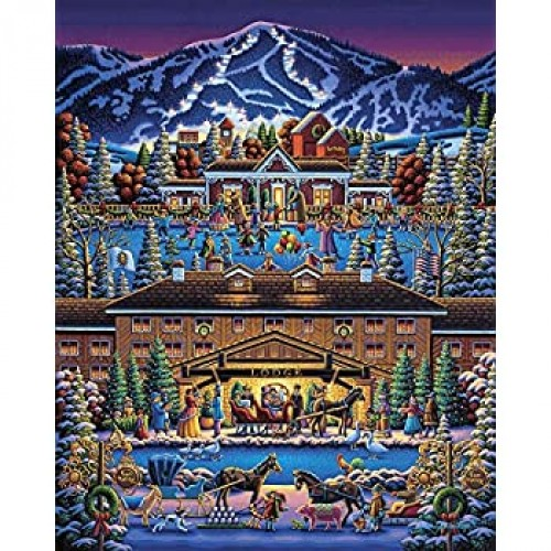 Dowdle Jigsaw Puzzle Sun Valley Holiday 500