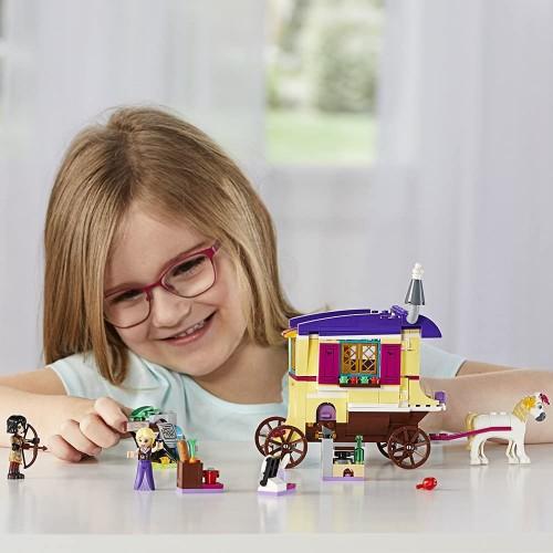 Lego 6213314 Disney Princess Rapunzels Traveling Caravan 41157 Building Kit 323 Piece 5 x 3