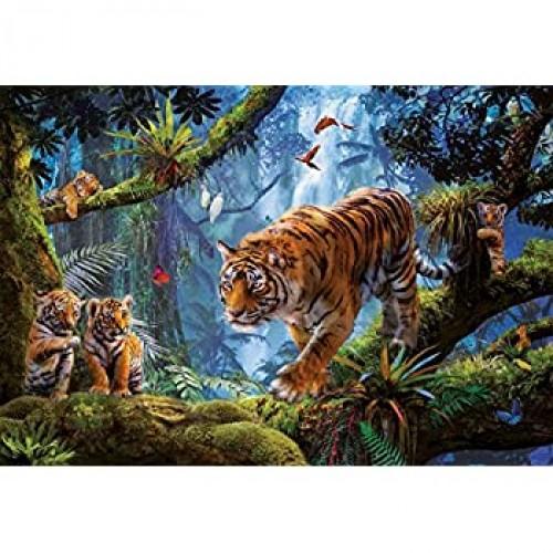 Educa 1000 Pc Tigers In The Tree