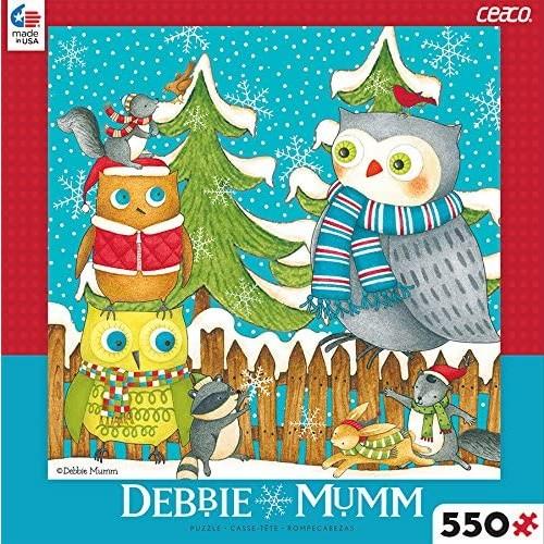 Ceaco Debbie Mumm Winter Fun Puzzle 550