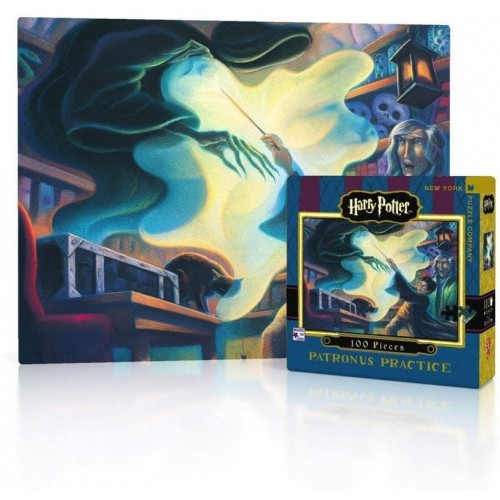 New York Puzzle Company Harry Potter Patronus Practice 100 Piece Jigsaw