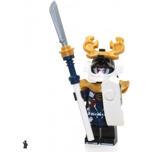 Lego Ninjago Minifigure Samurai x Sons Of Garmadon Limited Edition Foil