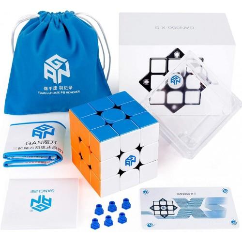 Coogam Gan 356 xs Speed Cube 3×3 Stickerless Gans 356xs Magnetic Puzzle Gan356 3x3x3