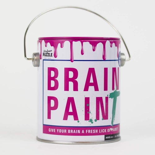Brain Training Paint 3 Engaging Stimulating Card Games By Professor