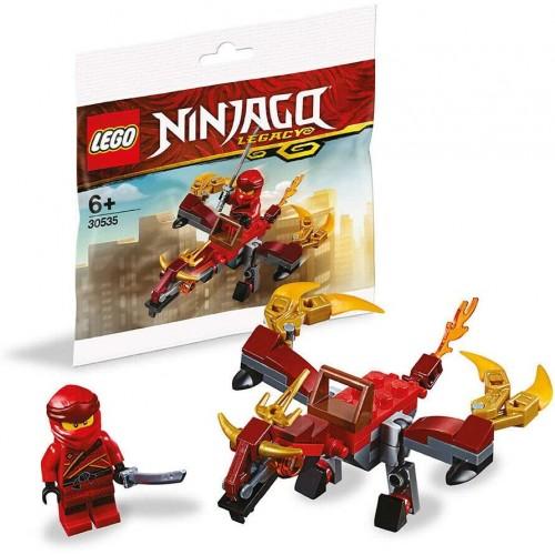 Lego Ninjago Legacy Minifigure Kai Fire Dragon Polybag