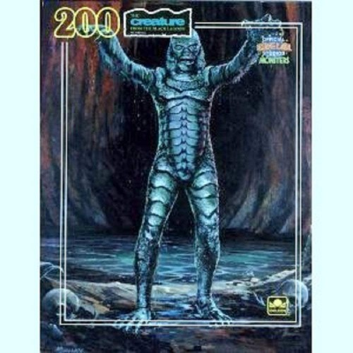 Universal Studios Monster Puzzle Creature From The Black