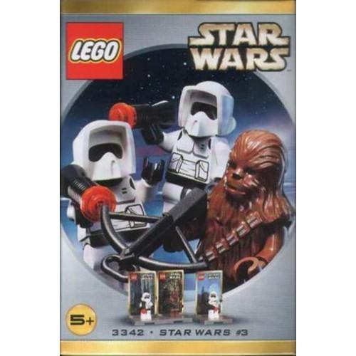 Star Wars Lego 3342 Figure Set Chewbacca 2 Biker