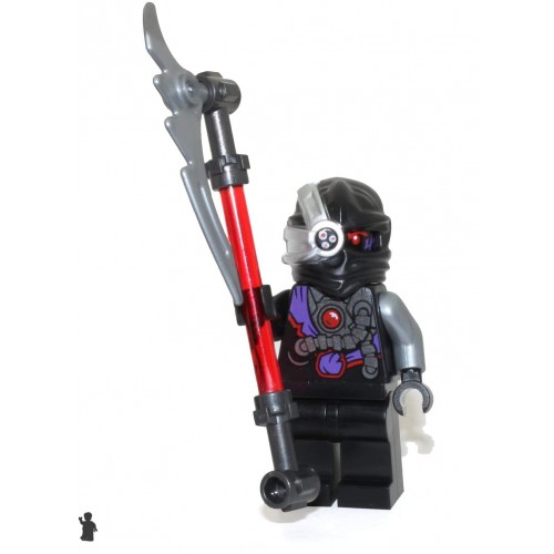 Lego Ninjago Minifigure Nindroid Limited Edition Foil Pack With
