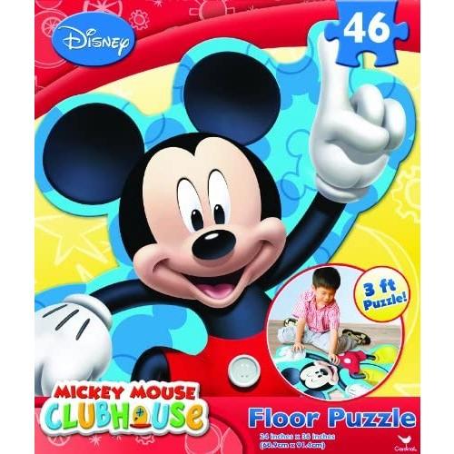 Mickey Club House Floor Puzzle