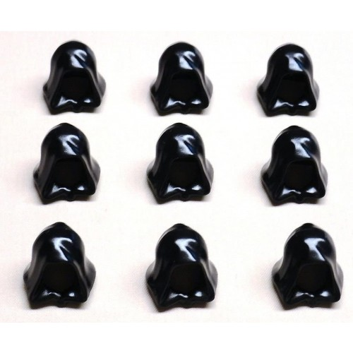 Lego Black Hood Lot Of 9 For Minifigs