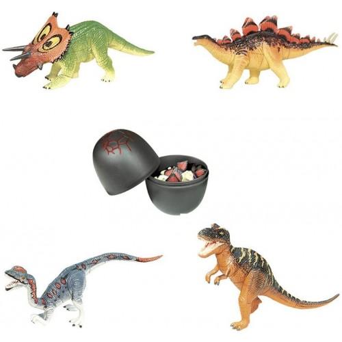 Artkal Assorted 4Pcsset Of Ukenn 3D Dinosaur Puzzles Block Diy Dino Egg Kids Educational Toy