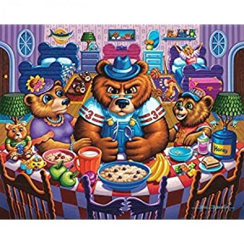 Dowdle Jigsaw Puzzle The Three Bears 100