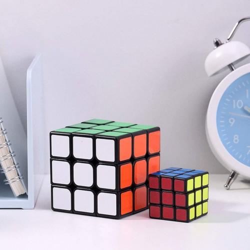 Cfmour Original Rubiks Cube Rubix Speed 3x3x3 Professional Smooth Sticker Cubefast Magic