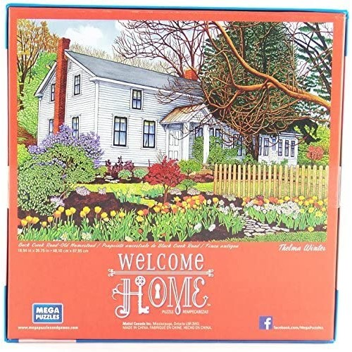 Welcome Home Puzzle Back Creek Roadold Homestead 1000 Piece Jigsaw By Thelma