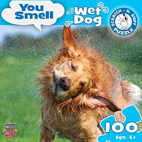 Masterpieces You Smell Wet Dog Jigsaw Puzzle Art By Alamy