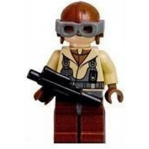 Naboo Fighter Pilot Lego Star Wars Figure With