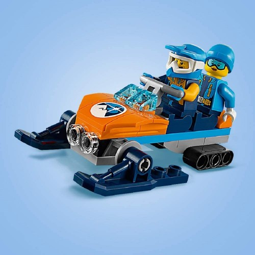 Lego City Arctic Ice Crawler Winter Expedition Vehicle Toy Heavy Snow