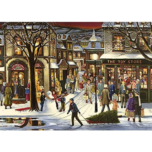 Downtown Christmas Puzzle