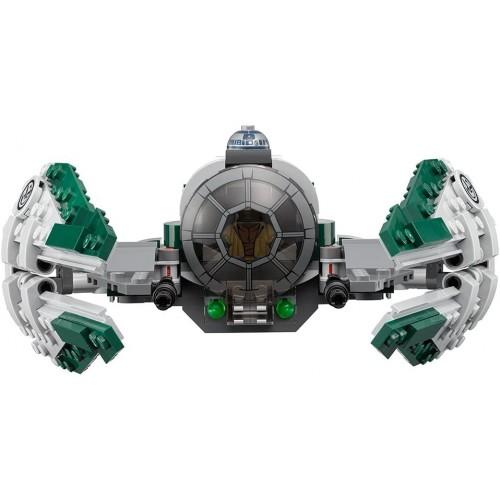 Lego Star Wars Yodas Jedi Starfighter 75168 Building Kit 262