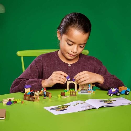 Lego Friends 4 Mias Foal Stable 41361 Building Kit 118