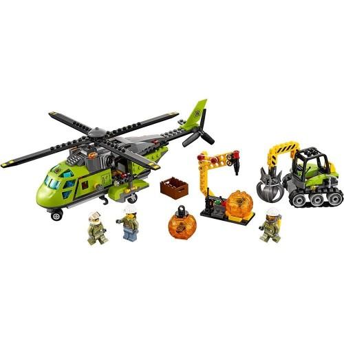 Lego City Volcano Supply Helicopter Set