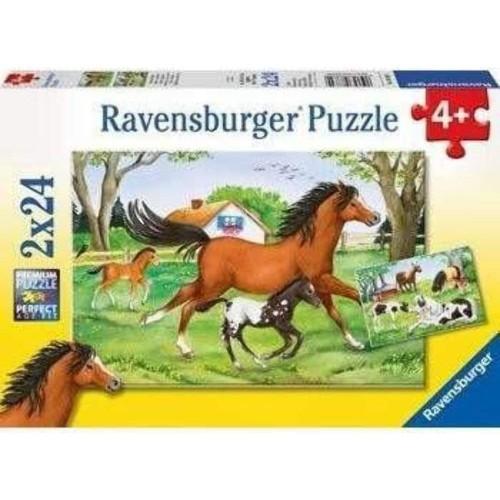 Ravensburger World Of Horses Jigsaw Puzzle 2 x 24