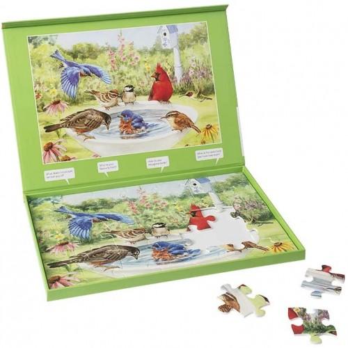 Active Minds 35 Piece Bathing Birds Jigsaw Puzzle Specialist Alzheimersdementia Activities