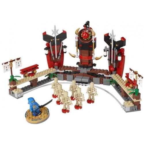 Lego Ninjago Exclusive Special Edition Set 2519 Skeleton Bowling Includes Jay Dragon Ninja Mini