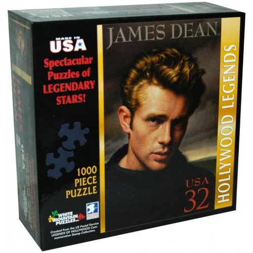 James Dean 1000Pc Jigsaw Puzzle By White
