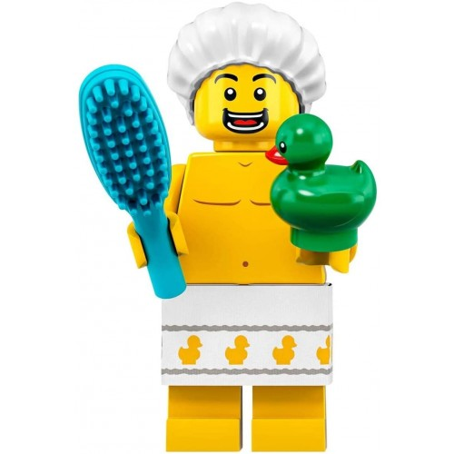 Lego Minifigures Series 19 Shower Guy With Duck Minifigure