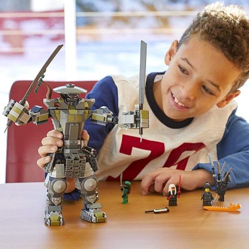 Lego Ninjago Masters Of Spinjitzu Oni Titan 70658 Building Kit 522 Piece