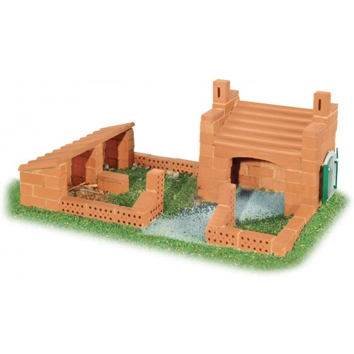 Teifoc Beginner Brick Construction Set And Mortar Building Educational Toy Intro To
