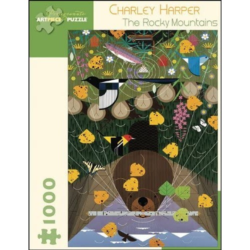 Charley Harper The Rocky Mountains 1000Pc Jigsaw