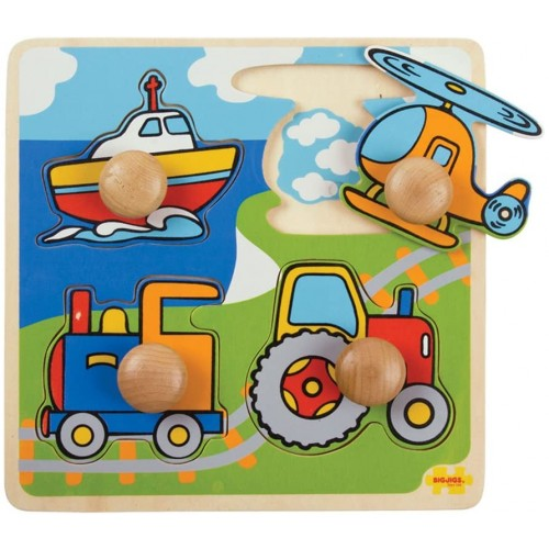 Bigjigs Toys Bj519 My First Peg Puzzle