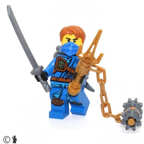 Lego Ninjago Tournament Of Elements Minifigure Jay Limited Edition Foil Pack With